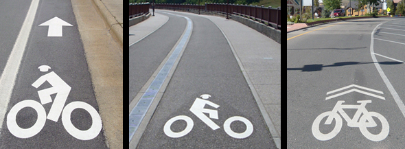Premark Bike Lane Markings Decopavement Decorative Pavement Marking